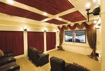 Media Rooms & Home Theaters