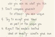 A path to self acceptance and love...