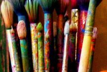 ART Tools of the Trade / by ArtfullyOutLoud