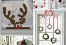 Weihnachts Fenster-Deko