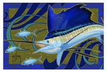 Guy Harvey Indoor Area Rugs / Guy's art is now available on a large selection of interior area rugs! Choose from several Guy Harvey classic or updated designs. Each rug is made from 100% nylon pile and injected with colorfast dyes throughout to make them durable and beautiful. Available size: 3' X 4', 4' X 6', 6' X 8', 8' X 11' &11' X 13'.