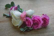 Flower crown / Usa un tocado diferente el día de tu boda.