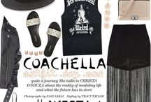 Music Festival Style / Headed to a music festival or two this summer? Here's what to bring with you on your way to Bonnaroo, Lollapalooza, or wherever your fringe sandals might bring you...