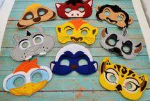 Jungle konsert masks