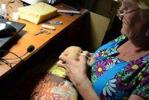 мк по скульптурно текстильной кукле