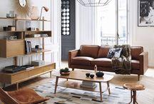 salones modernos y cálidos