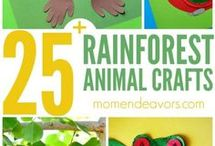 Tropical crafts for kids