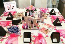 Beauty Workshop setup