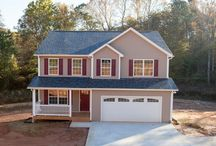 Rockwood House Plan / Just under 2,800 square feet on 2-stories with 4/5 bedrooms, 2 1/2 baths, enormous master walk-in closet, and 2-car garage. #Sedgewick_Homes #NC_homebuilders #NC_custom_builders #construction_ company