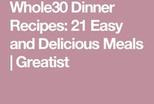 Whole 30 dinner options