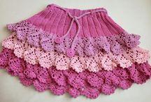 Crochet skirts / I love this crochet skirt...