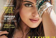 Celebrity Magazine Covers / Celebrity Magazine, Magazine Cover, Cover Boy, Cover Girl, Celebrities, Bollywood Actor, Bollywood Actress