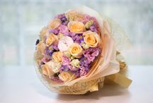 Hand Bouquet / Check out our artfully designed range of Singapore's finest hand bouquets that will radiate happiness in the hearts of your love ones. http://simplyhamper.com/product-category/flowers/hand-bouquet/