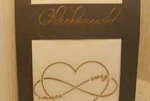Konfetti-Hochzeit / Hochzeit.....eine der schönsten Feiern im Leben.Entwerfen Sie mit unserem Stempelset Konfetti-Hochzeit ebenso schöne Karten