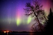 Alaska Northern Lights / Northern Lights of Alaska beautiful glimpses of colour in the night sky.
