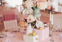 Decoração de casamento / Aprecie os mimos e grandes arranjos de vários casamentos ao redor do mundo.