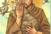 Franciscus en Lucia..