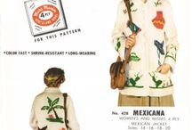 Reproduced vintage knitting and crocheting patterns