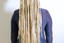 Dreadlocks with loose ends
