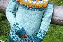 fair isle yoke pullover