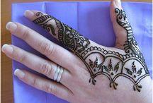 henna designs / Hand and feet