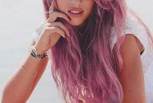 Dyed hair