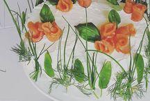 Tips på hur man kan dekorera en smörgåstårta