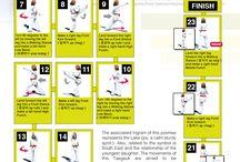 Taekwondo poomsen