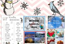 Winter- Worksheets