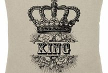 king & queen crown