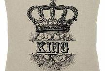 king & queen crown