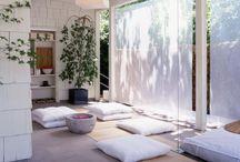 Meditation room at home