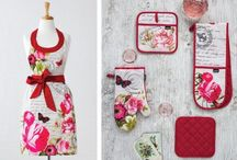 Kitchen Linens / Check out our range of kitchen linens including funky kitchen aprons to beautiful kitchen placemats, runners and much much more....