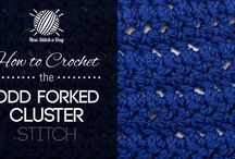 Crochet Stitches / by QueenBee