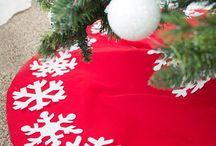 DIY Festive Christmas Tree Skirts