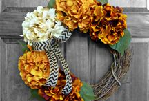 wreaths / by Bobbi Aulabaugh