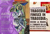 Il gruppo teatrale della Normale presenta l'Elettra di Sofocle. / 10, 11 e 12 giugno, Gipsoteca di Arte Antica, Piazza S. Paolo all'Orto Pisa.