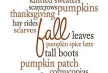 Autumn / Autumn, my favorite season / by Linda Davis
