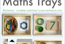 Math trays