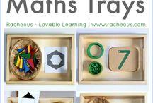 Math trays