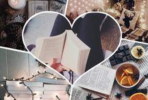 Lost In My Books / Książki to coś, co pozwala mi podwójnie żyć. Kocham czytać i robić zdjęcia i temu jest poświęcona ta tablica. :)