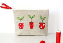 Pouch, Tote, Bag, / Cute projects to hold fun stuff!