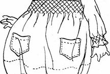 disegni ricamo bamnbini