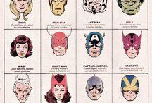 ComicHelden & Bösewichte