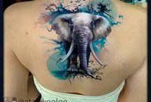 Color tattoos