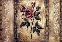print rose