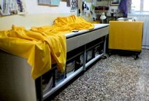 Il Laboratorio di Giudici Tappezziere - The Lab / Istantanee delle lavorazioni artigianali, tutto rigorosamente fatto a mano - Snapshots of the workshop, all strictly hand crafted