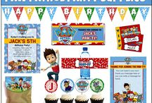 Rubble on the voluble paw patrol party / Paw patrol party ideas