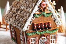 Xmas: Gingerbread Houses