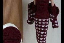 Barbie clothes crochet